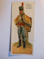 B0076c - Image Chromo à Découper COLLECTION DU CHOCOLAT LOMBART - 36 HUSSARD BONAPARTE 1800 - Lombart