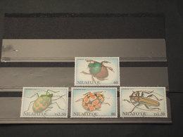 TONGA-NIUAFO'OU - 1994 INSETTI 4 VALORI - NUOVI(++) - Tonga (1970-...)