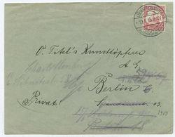 DSWA Deutsch-Südwestafrika Brief Lüderitzbucht Berlin 1913 - Colonie: Afrique Sud-Occidentale