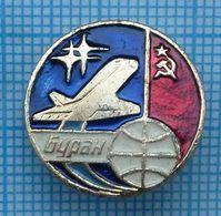 USSR / Soviet Union / Badge. Space Shuttle BURAN. Aviation. - Space