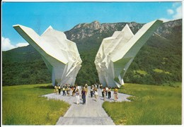 Bosnia And Herzegovina Tjentiste 1985 / Nacionalni Park Sutjeska, Monument Of The Battle Of Sutjeska - Bosnia And Herzegovina