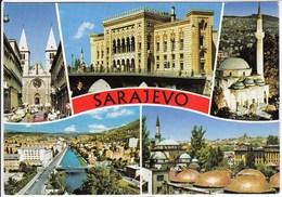 Bosnia And Herzegovina Sarajevo 1996 / Church, Mosque, Panorama - Bosnia Y Herzegovina