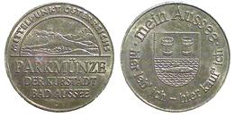 01597 GETTONE TOKEN JETON AUSTRIA PARCHEGGIO PARKING PARKMUNZE BAD AUSSE - Unclassified