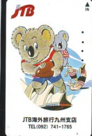 Télécarte Japon * JTB * (487) * PHONECARD JAPAN * TELEFONKARTE * - Publicité