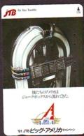 Télécarte Japon * JTB * (490) * PHONECARD JAPAN * TELEFONKARTE * - Publicité