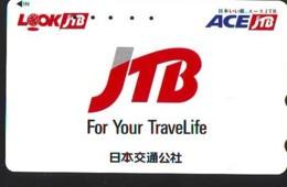 Télécarte Japon * JTB * (502) * PHONECARD JAPAN * TELEFONKARTE * - Publicité