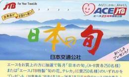 Télécarte Japon * JTB * (503) * PHONECARD JAPAN * TELEFONKARTE * - Publicité