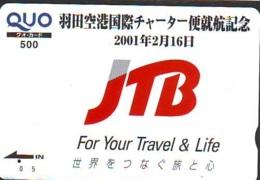 Carte Prepayee Japon * JTB * (506) * CARD JAPAN * KARTE * - Publicité