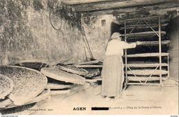 D47 GRANGES  Mise De La Prune à L'Étuve  ( Granges Surchargé Et Remplacé Par Agen ) - Frankreich