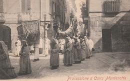 PROCESSIONE A CAIRO MONTENOTTE - Savona