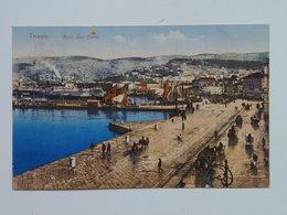 Trieste 387 Molo San Carlo 1924 - Trieste