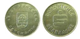 01600 GETTONE TOKEN JETON AUSTRIA PARCHEGGIO PARKING STADT DORNBIRN SPARKASSE - Unclassified