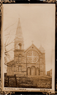 RPPC B&W - Real Photo Véritable 1910 - Village Howick Montérégie Québec - Catholic Church - 2 Scans - Quebec