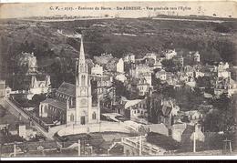 Environs Du Havre SAINTE ADRESSE Vue Générale Vers L'Eglise 1919 Ca&chet Poste Militaire Belge Edition CV 2527 - Sainte Adresse