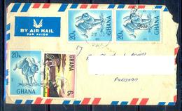 K895- Postal Used Cover. Posted From Ghana To Pakistan. Animals. Rabbit. - Ghana (1957-...)
