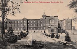 Sherbrooke Québec - Monastère Des Rédemptoristes - A.Z. Pinsonneault No. 501 - 2 Scans - Sherbrooke