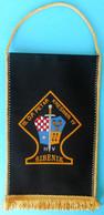 15. D.P. PETAR KRESIMIR IV - ŠIBENIK ...Croatia Army Larger Pennant * Croatia Kroatien Croatie Croazia Croacia Hrvatska - Flags