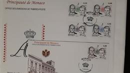 MONACO 2011 MATRIMONIO PRINCIPE ALBERTO - FDC