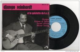 """DISQUE 45T . DJANGO REINHARDT ET LE QUINTETTE DU HOT CLUB DE FRANCE . """" NUAGES """" - Réf. N°4D - - Jazz"""