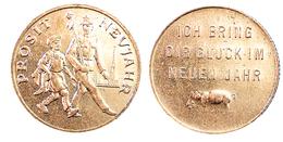 03267 GETTONE TOKEN JETON AUSTRIA PROSIT NEUJAHR HAPPY NEW YEAR - Non Classificati
