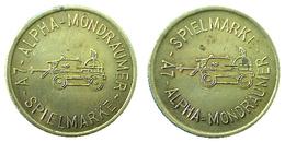 03660 GETTONE TOKEN JETON THE NETHERLANDS ALPHA MONDRAUMER SPIELMARKE - Netherland