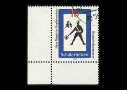 BRD 1971, Michel-Nr. 665, Neue Regeln Im Straßenverkehr, 10 Pf., Eckrand Unten Links, Gestempelt - BRD