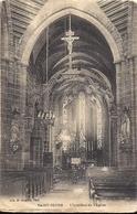 SAINT SEVER Intérieur De L'Eglise 1923 Librairie H Ermice Vire - Other Municipalities