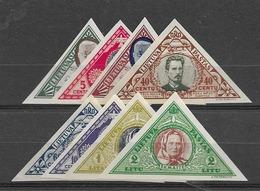 1933 MNH Lituania Mi 372-9B Postfris** - Lituania