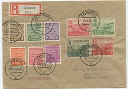 SBZ Sachsen R Brief Cainsdorf Zwickau 1946 - Zone Soviétique