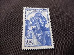 TIMBRE   GUINÉE   N  167        COTE 1,90  EUROS   OBLITÉRÉ - Oblitérés
