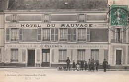 Choisy En Brie (l'hôtel Du Sauvage). - Autres Communes