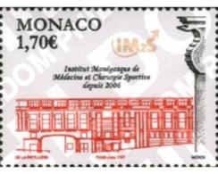 Ref. 198887 * MNH * - MONACO. 2006. INSTITUTE OF SPORT MEDICINE AND SURGERY  . INSTITUTO DE MEDICINA Y CIRUGIA DEPORTIVA - Monaco