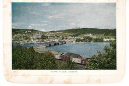 Gaspé Québec - Carte Folkard - 2 Scans - Gaspé