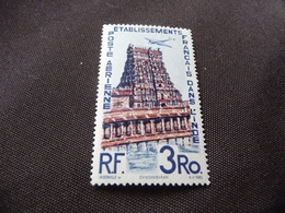 TIMBRE   INDE   POSTE  AÉRIENNE   N  17        COTE 8,40  EUROS   NEUF  SANS  CHARNIÈRE - India (1892-1954)