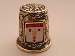 """Dé A Coudre En Métal """" Ribeauville"""" - Thimbles"""