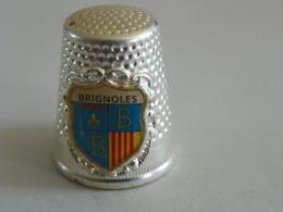 "Dé A Coudre En Métal "" Brignoles"" - Ditali Da Cucito"