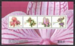 2010  Flower Definitives  Souvenir Sheet Of 4 Different  Sc 2356  MNH - Ungebraucht
