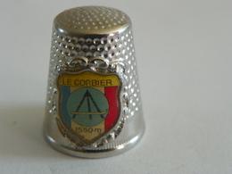 """Dé A Coudre En Métal """" Le Corbier"""" - Dés à Coudre"""
