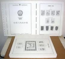 CINA China 2000/2004 Fogli Marca LEUCHTTURM (nuovi) - Album & Raccoglitori