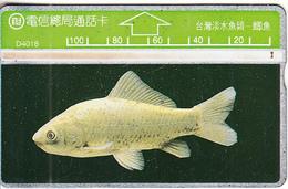 TAIWAN - Fish, ITA Telecard(D4018), CN : 444A, Used - Taiwan (Formosa)