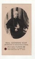 Santino Antico Servo Di Dio Mons. Giovanni Volpi Con Reliquia - Religion & Esotericism