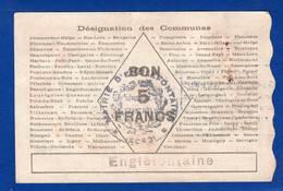 Enclefontaine  59/530  Du  5/3/1915 - Bons & Nécessité