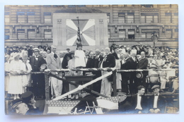 Photo Of Some Ceremony Or Event, RPPC Postcard - To Identify