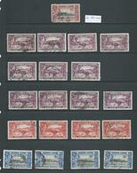 Sierra Leone 1938 KGVI 1d -> 5 Shillings Duplicated Group Of 30 + Most FU - Sierra Leone (...-1960)
