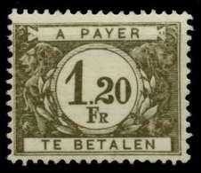 BELGIEN PORTO Nr 34 Postfrisch X945FDA - Portomarken