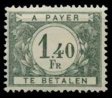 BELGIEN PORTO Nr 35 Postfrisch X947F12 - Portomarken