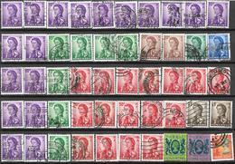 9Ab-972: Restje 50 Zegels   Diverse Waarden.. 1962: ... Verder Uit Te Zoeken.. - Hong Kong (...-1997)