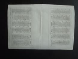ALMANACH  1870  CALENDRIER 2  SEMESTRIELS  -Editeur  Mayou Et Honoré --mai 2019 Clas Cal - Calendars