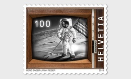 Switzerland 2019 - 50 Years Manned Moon Landing Mnh - Unused Stamps
