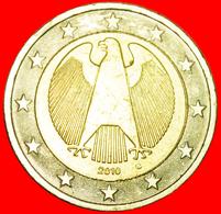 + NON-PHALLIC TYPE (2008-2019): GERMANY ★ 2 EURO 2010G! LOW START ★ NO RESERVE! - Germania